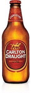 Carlton Draught Bottle